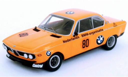 Bmw 2800 1/43 Trofeu CS No.80 Alpina Zandvoort 1972 R.Slotemaker diecast model cars