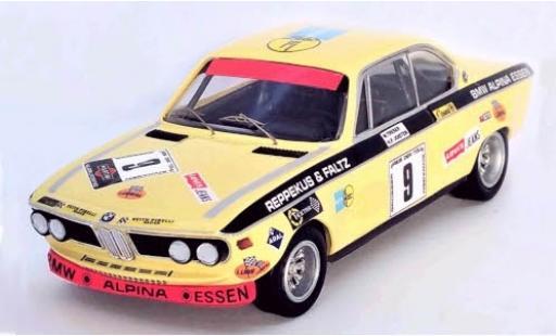 Bmw 2800 1/43 Trofeu CS No.9 6h Nürburgring 1971 H.P.Joisten/W.Treser coche miniatura