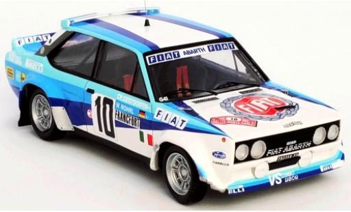Fiat 131 1/43 Trofeu Abarth No.10 Rallye WM Rallye Monte Carlo 1980 damaged W.Röhrl/C.Geistdörfer miniature