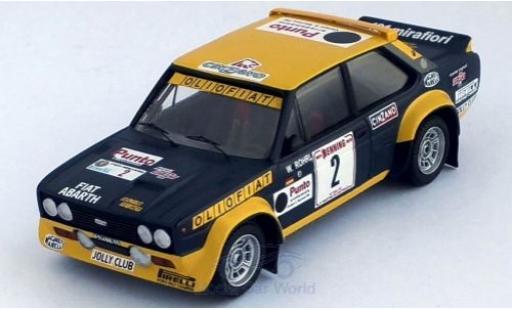 Fiat 131 1/43 Trofeu Abarth No.2 Olio Rally San Martino di Castrozza 1977 W.Röhrl/C.Geistdörfer miniature