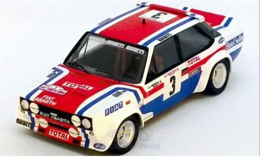 Fiat 131 1/43 Trofeu Abarth No.3 Rallye WM Tour de Corse 1978 J-C.Andruet/Biche miniature