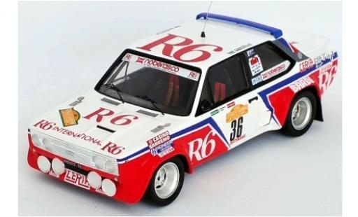Fiat 131 1/43 Trofeu Abarth No.36 R6 Rallye WM Rally San Remo 1982 G.Noberasco/D.Cianci coche miniatura