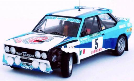 Fiat 131 1/43 Trofeu Abarth No.5 Rallye WM Rally Portugal 1980 damaged W.Röhrl/C.Geistdörfer diecast model cars