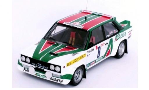 Fiat 131 1/43 Trofeu Abarth No.8 Alitalia Rallye WM Criterium Molson du Quebec 1977 T.Salonen/J.Markkula coche miniatura