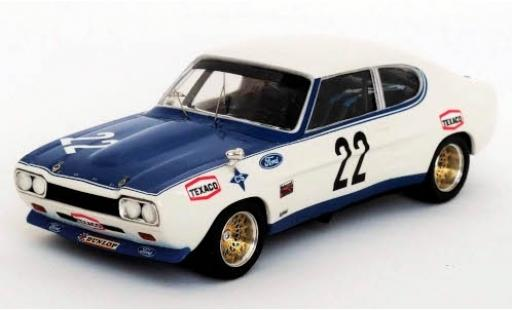 Ford Capri 1/43 Trofeu MK I 2600 RS No.22 Villa Real 1972 J.Mesia diecast model cars