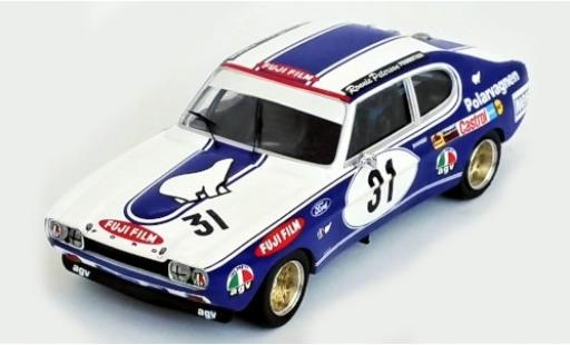 Ford Capri 1/43 Trofeu MK I RS 2600 No.31 Mantorp Park 1972 R.Peterson miniature