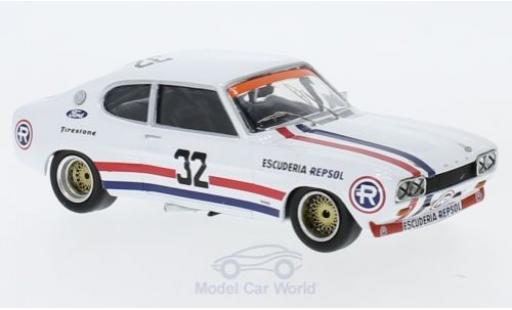 Ford Capri 1/43 Trofeu MK I RS 2600 No.32 Vila Real 1972 R.Gimenez miniature
