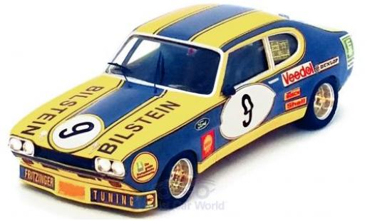 Ford Capri 1/43 Trofeu MK I RS 2600 No.9 Bilstein 6h Nürburgring 1973 K.Fritzinger/H.Heyer miniatura