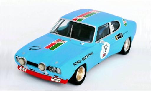 Ford Capri 1/43 Trofeu MkI RS 2600 No.10 -Odenthal 24h Nürburgring 1972 W.Odenthal/G.Schüler diecast model cars