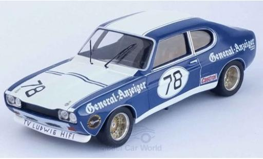 Ford Capri 1/43 Trofeu MKI RS 2600 No.78 General-Anzeiger DRM 1973 K.Ludwig miniature