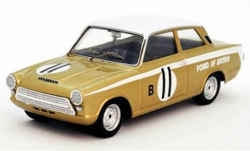 Ford Cortina 1/43 Trofeu GT RHD No.11 of Britain 12h Marlboro Park 1963 H.Taylor/J.Blumer diecast model cars