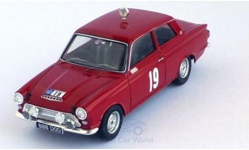 Ford Cortina 1/43 Trofeu MKI GT No.19 RAC Rallye 1964 H.Taylor/B.Melia miniature