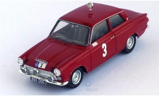 Ford Cortina 1/43 Trofeu MKI GT RHD No.3 RAC Rallye 1964 V.Elford/D.Stone miniature
