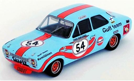 Ford Escort 1/43 Trofeu MK I 1300 GT RHD No.54 Gulf Brands Hatch 1972 H.Kemiläinen diecast model cars
