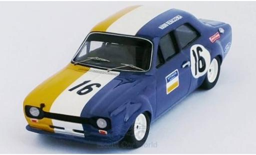 Ford Escort 1/43 Trofeu MK I RHD No.16 Vila Real 1972 D.Sa Nogueira miniature