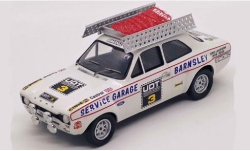 Ford Escort 1/43 Trofeu MK I RHD No.3 World Cup Rally 1974 E.Jackson/R.Bean diecast model cars
