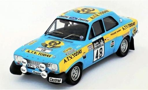 Ford Escort 1/43 Trofeu MK I RS 1600 RHD No.48 RAC Rallye 1973 R.Brookes/J.Brown miniature