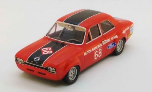 Ford Escort 1/43 Trofeu MK I TC No.68 Zandvoort 1969 F.Dudok van Heel modellautos