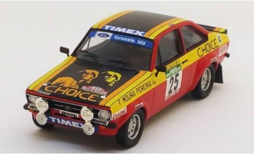 Ford Escort 1/43 Trofeu MK II No.25 Choice Rallye WM Rally Portugal 1978 G.Salvi/Z.Matriculas miniature