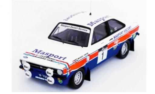 Ford Escort 1/43 Trofeu MK II RS 1800 No.1 Masport Rallye WM Rallye New Zealand 1978 R.Brookes/C.Porter miniature