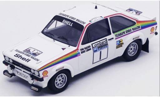 Ford Escort 1/43 Trofeu MK II RS 1800 No.1 Rallye WM RAC Rallye 1976 T.Makinen/H.Liddon miniature