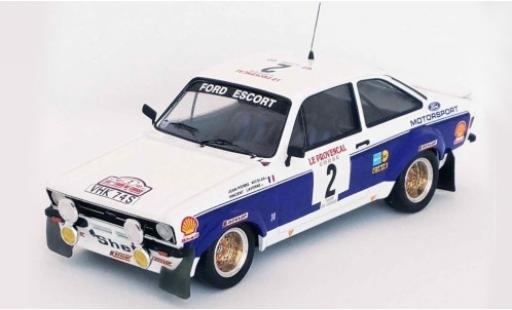 Ford Escort 1/43 Trofeu MK II RS 1800 No.2 Motorsport Rallye WM Tour de Corse 1977 J-P.Nicolas/V.Laverne diecast model cars