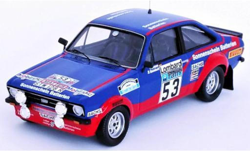 Ford Escort 1/43 Trofeu Mk II RS 1800 No.53 Sonnenschein Batterien Rallye WM RAC Rallye 1977 R.Hainbach/P.Linzen diecast model cars