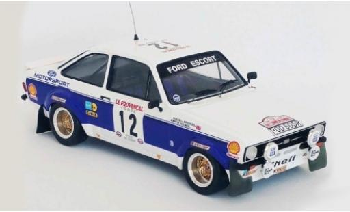 Ford Escort 1/43 Trofeu MK II RS 1800 RHD No.12 Motorsport Rallye WM Tour de Corse 1977 R.Brookes/M.Holmes diecast model cars