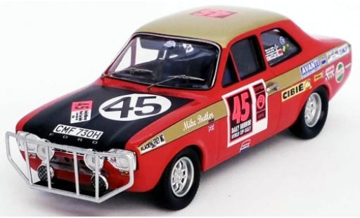 Ford Escort 1/43 Trofeu MKI 1300 GT RHD No.45 London - Mexico World Cup Rally 1970 D.Harris/M.Butler diecast model cars
