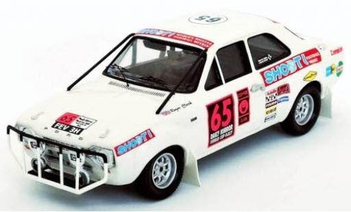 Ford Escort 1/43 Trofeu MkI No.65 London - Mexico World Cup Rally 1970 R.Clark/A.Poole diecast model cars