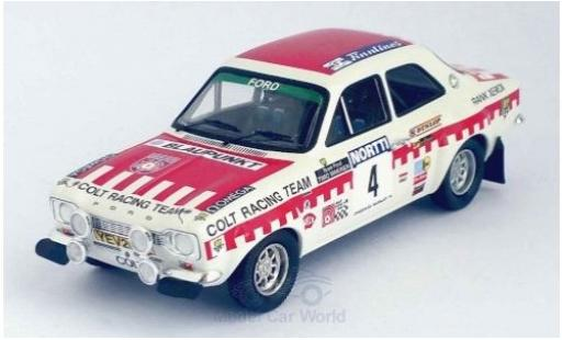 Ford Escort 1/43 Trofeu MKI RS 1600 No.4 Colt Racing Team Rallye WM 1000 Lakes Rallye 1973 T.Makinen/H.Liddon miniature