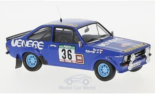 Ford Escort MKI 1/43 Trofeu MKII No.36 Venere/Publimmo Rallye Portugal 1980 Ray/P.Gandolfo miniature