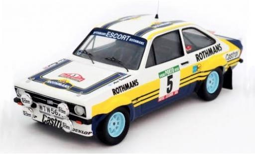 Ford Escort 1/43 Trofeu MkII No.5 Rothmans Rally WM Rally Portugal 1979 A.Vatanen/P.Bryant diecast model cars