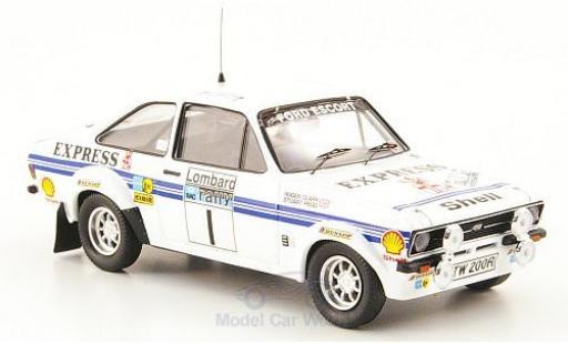 Ford Escort MKI 1/43 Trofeu I RS 1800 No.1 Express Rallye WM RAC Rallye 1977 R.Clark/S.Pegg miniature
