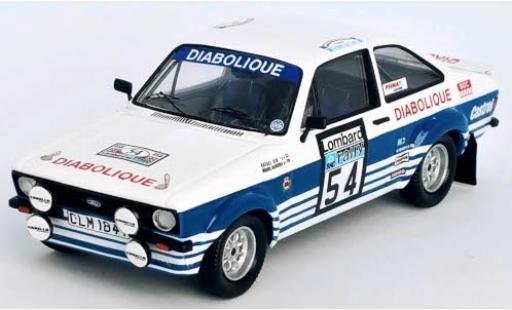 Ford Escort 1/43 Trofeu MkII RS 1800 No.54 Diabolique Rallye WM RAC Rallye 1980 R.Cid/M.Oliveira miniature