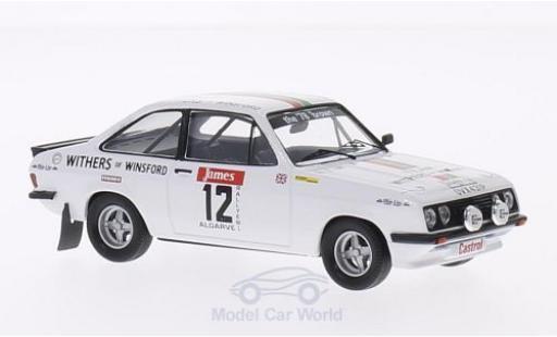 Ford Escort MKI 1/43 Trofeu I RS 2000 No.12 Castrol Rallye WM Rallye Algarve 1978 B.Williams/K.Wood miniature