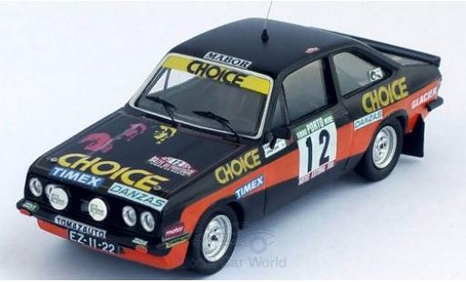 Ford Escort 1/43 Trofeu MKII RS 2000 No.12 Rallye WM Rally Portugal 1979 G.Salvi/J.Cirne miniature