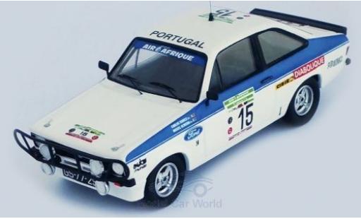 Ford Escort 1/43 Trofeu MKII RS 2000 No.15 Rallye WM Rallye Bandama 1979 C.Torres/M.Oliveira miniature