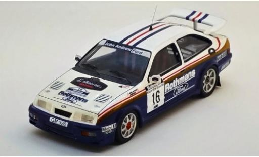 Ford Sierra 1/43 Trofeu RS Cosworth No.16 John Andrew Rothmans Rallye WM Rallye New Zealand 1989 S.Al-Hajri/S.Bond miniature
