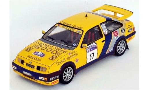Ford Sierra 1/43 Trofeu RS Cosworth No.17 Rallye WM RAC Rally 1988 M.Lovell/T.Harryman diecast model cars