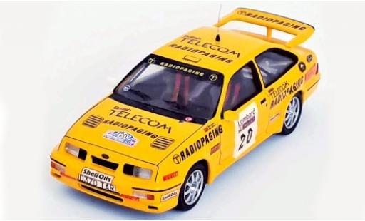 Ford Sierra 1/43 Trofeu RS Cosworth No.20 British Telecom Radiopaging Rallye WM RAC Rallye 1987 M.Lovell/R.Freeman miniature