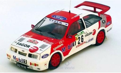 Ford Sierra 1/43 Trofeu RS Cosworth No.26 Rallye WM Rally Portugal 1992 J.Miguel/L.Lisboa miniature