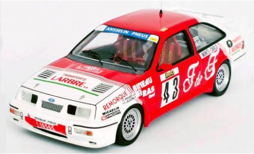 Ford Sierra 1/43 Trofeu RS Cosworth No.43 Rallye WM Rally Monte Carlo 1988 J.P.Rouget/F.Lelievre miniature