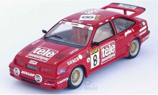 Ford Sierra 1/43 Trofeu RS Cosworth RHD No.8 tele moustique 24h Spa 1987 A.Rouse/T.Tassin/W.Percy miniature