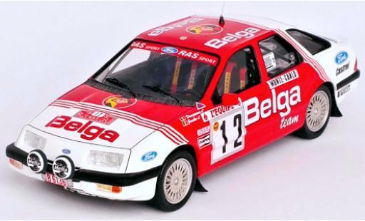 Ford Sierra 1/43 Trofeu XR 4x4 No.12 Belga Rallye WM Rallye Monte Carlo 1987 R.Droogmans/R.Joosten miniature