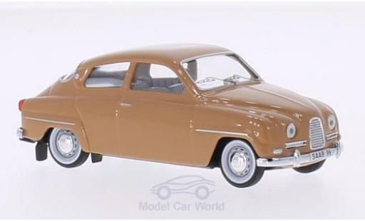Saab 96 1/43 Trofeu brown diecast model cars