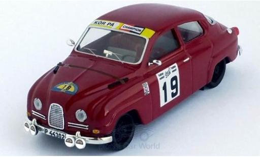 Saab 96 1/43 Trofeu No.19 Rallye Schweden 16 A.Andersson/S.-O.Svedberg miniature