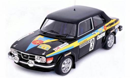 Saab 99 1/43 Trofeu No.3 Rallye WM Rallye Schweden 1979 S.Blomqvist/B.Cederberg miniature