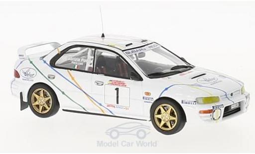 Subaru Impreza 1/43 Trofeu 4x4 Turbo No.1 Rallye Madeira 1995 P.Liatti/F.Pons miniature