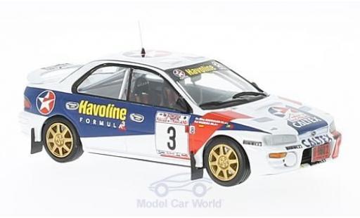 Subaru Impreza 1/43 Trofeu 4x4 Turbo No.3 Rallye Thailand 1997 R.Madeira/N.R.Silva miniature